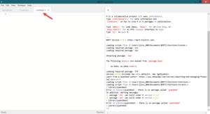 New BERT Code Window