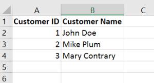 Data Relationship Customer