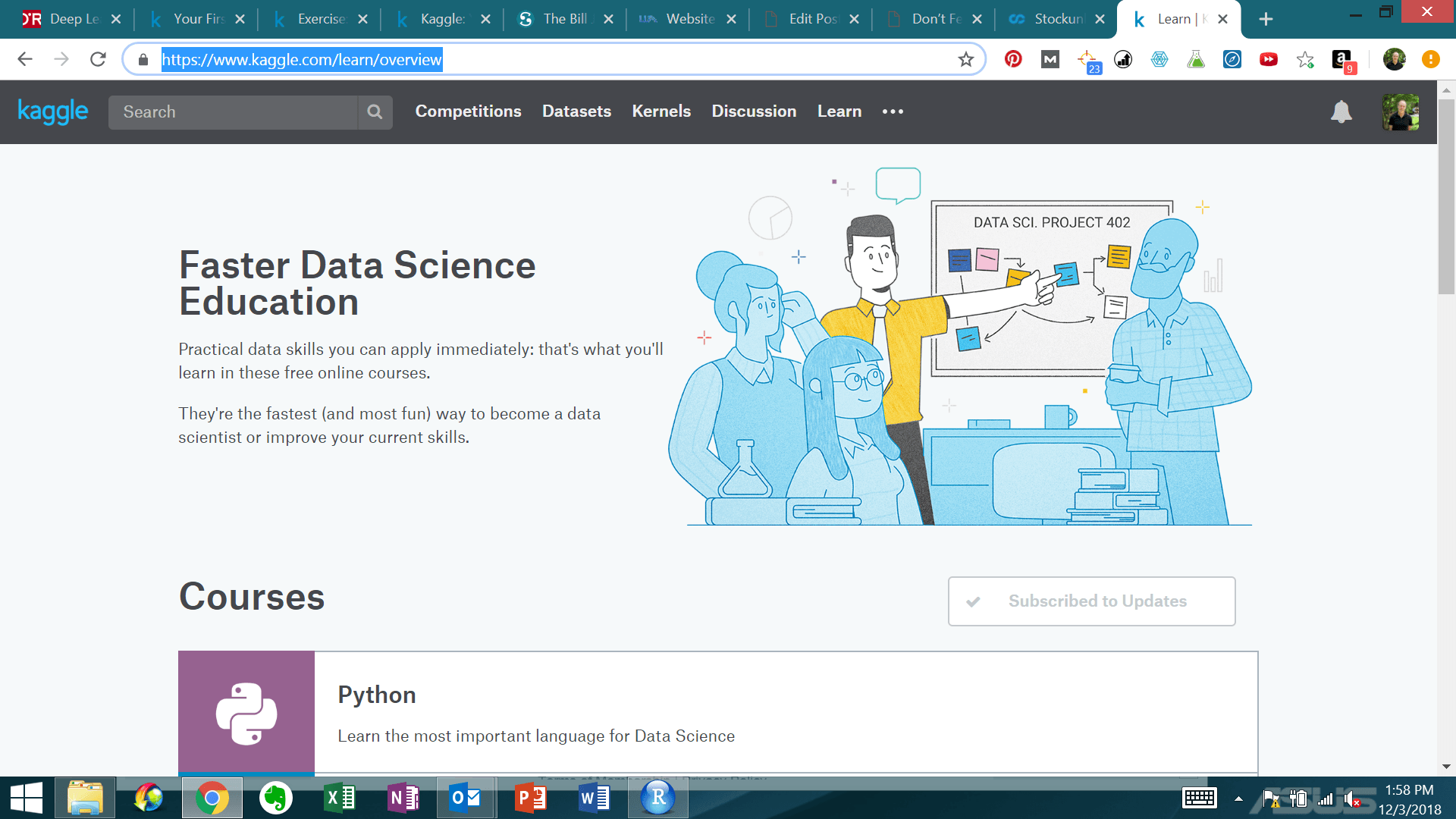 Learning Resources on Kaggle