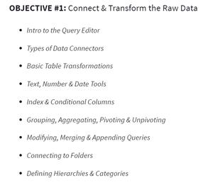 Power BI Objective 1