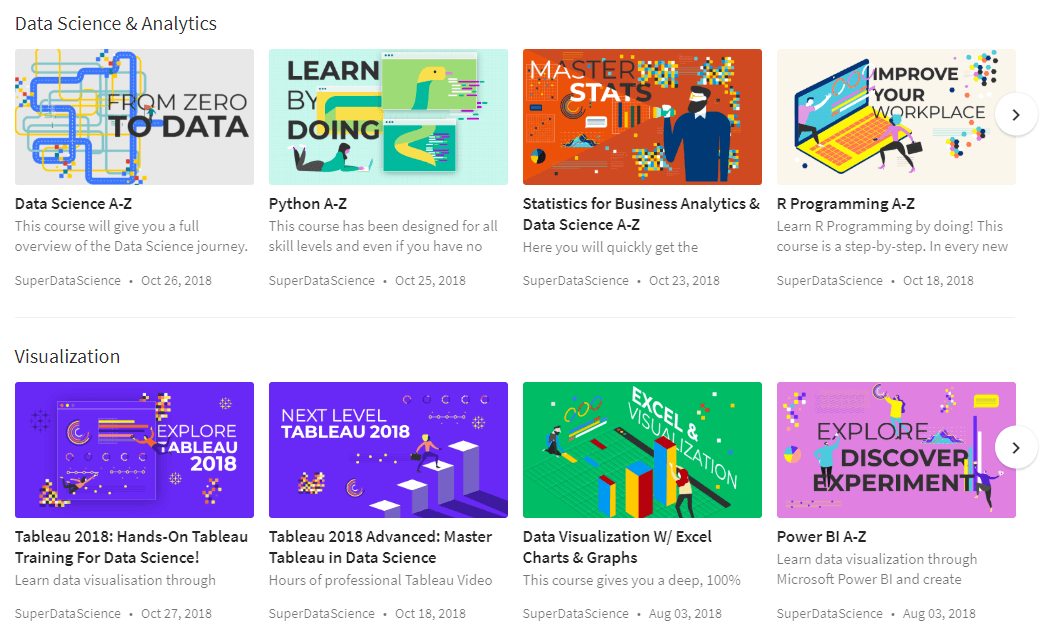 Super Data Science Courses 2