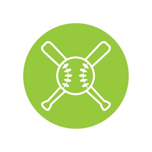 Green Baseball Diamond