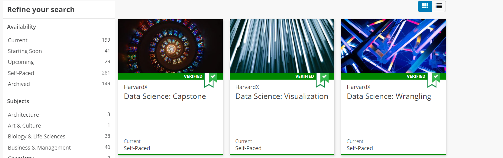 edX Courses Data Science