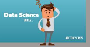 Data Science Skills Cartoon
