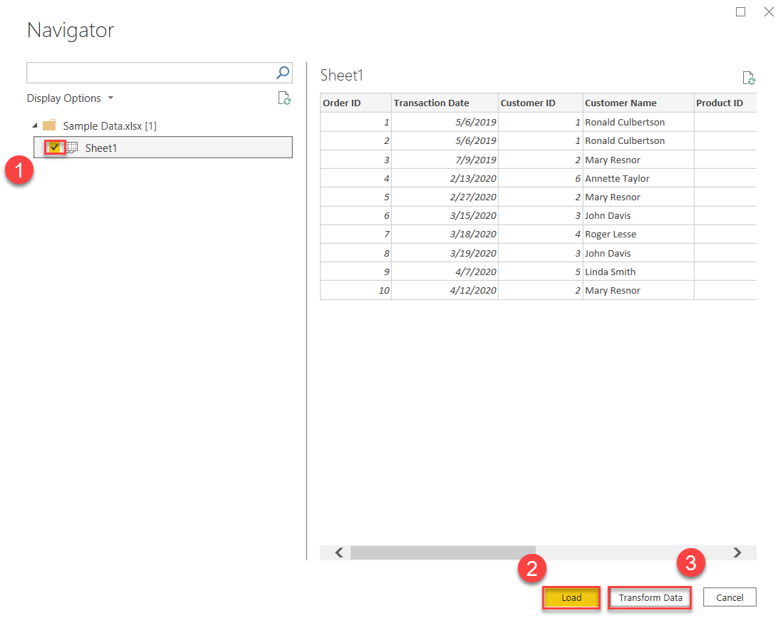 Power BI Connector for Excel