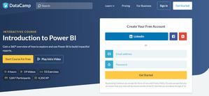 DataCamp Intro to Power BI